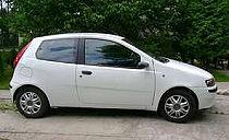 Fiat Punto. Wynajem samochodów Gdynia